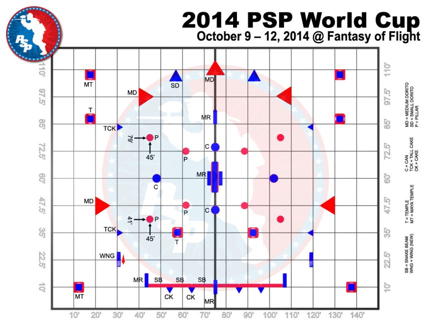 paintball world cup 2014 layout